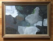 WALTER SORGE Abstract Expressionist Oil Painting California / Canadian - LISTED