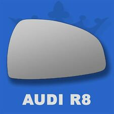 Audi R8 07-14 Flat Wing Door Mirror Glass For Right Driver Side