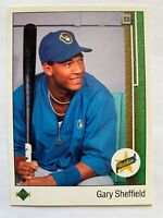 GARY SHEFFIELD UPPER DECK ROOKIE #13 - 1989