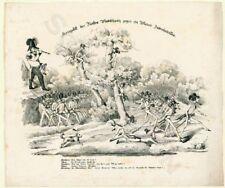 1848 antisemitische Karikatur Fürst Windisch-Graetz gegen ein Judenbataillon
