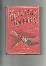 Tom Tit la science amusante 3 volumes Larousse  expériences de physique