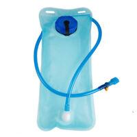2L Faltbare Trinkflasche Wasserbeutel Schlauch Wasserbeutel Fahrräder Radsport
