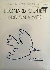SEALED Bird On A Wire Leonard Cohen *No GST* (DVD, 2011, Spec. Ed.) FREE POSTAGE
