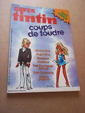 """MAGAZINE """"SUPER TINTIN, no 20"""" (1983) COUPS DE FOUDRE"""
