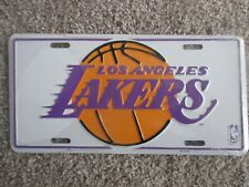 """Usa: """" Los Angeles Lakers' - Official number plate Nba Basketball"""
