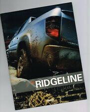 2006 Honda RIDGELINE PickUp Truck Brochure / Booklet with Color Chart:RT,RTS,RTL