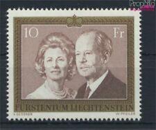 Liechtenstein 614II papier blanc floureszierend neuf 1992 fuerstenpaar (9082160