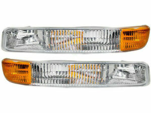 FOR CHEVY SILVERADO 1999 2000 2001 2002 CORNER PARK LAMP RIGHT & LEFT PAIR