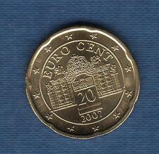 Autriche 2007 - 20 centimes d'Euro
