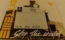 "EXTREME Stop The World 7"" VINYL Radio Edit B/W Christmas Time Again promo copy"