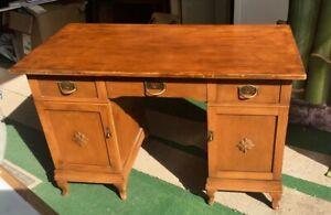 schöner Jugendstil Schreibtisch klassisch elegant schlicht zeitlos *Schnäppchen*
