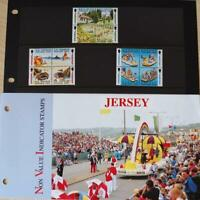 """Jersey Stamps: """"Jersey Non Value Booklet Definitives"""" MNH Presentation Pack 1993"""