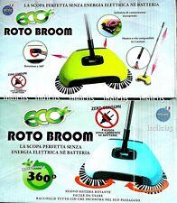 indici15 Eco Roto Broom Scopa Rotante 360° Verde o Blu zeroconsumi by bernigroup