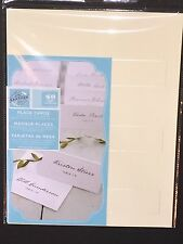 Gartner Studios Pearl Ivory Place Cards, 48 Count, 83004