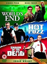 The World s End Hot Fuzz Shaun of the Dead [DVD] [2004]
