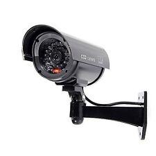 Kamera Dummy Überwachungskamera Attrappe Alarmanlage Camera Fälschung schwarz HY