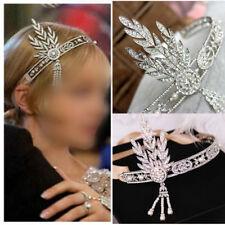 Bridal Headress Great Gatsby 1920s Style Headpiece Pearl Charleston Headband
