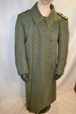 WWII WW2 German M40 / M42 Greatcoat Size XL - EXC CONDITION - Heavy Wool
