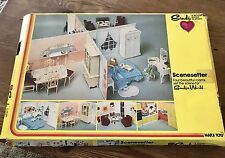 Vintage Sindy Scenesetter Dollhouse For Sindy's World Marx Toy Co Box Included