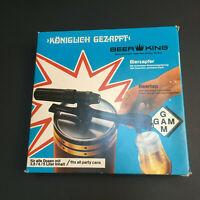 Vintage German Beer King Beer Tap KONIGLICH GEZAPFT 1980s Party