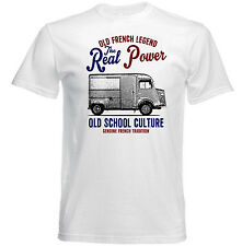 VINTAGE FRENCH CAR CITROEN HY 78 VAN - NEW COTTON T-SHIRT