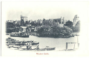 AK, Windsor, Blick zum Windsor Castle, um 1900