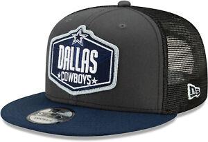 Dallas Cowboys New Era 950 Kids NFL 2021 Draft Snapback Cap (Ages 5 - 10)