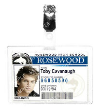 Pretty Little Liars Toby Cavanaugh ID Badge Cosplay Prop Costume Gift Comic Con