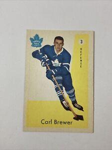1959 Parkhurst Carl Brewer #3 ROOKIE RC
