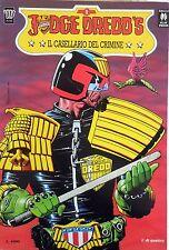 FUMETTO JUDGE DREDD'S IL CASELLARIO DEL CRIMINE PRIMO VOLUME 1991