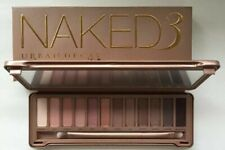 AUTHENTIC URBAN DECAY COSMETICS NAKED 3 EYESHADOW FACE PALETTE 12 SHADES NIB $75