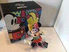 Enesco 2011 Disney Romero Brito Minnie Mouse Figurine with Box