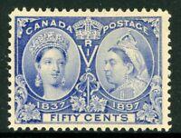 Canada 1897 Jubilee 50¢ Scott # 60 Mint W690