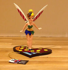 NEW DISNEY BRITTO TINK /TINKERBELL ON HEART FIGURINE 4023847 COLLECTIBLE BNIB