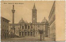 1907 Roma Basilica S. Maria Maggiore Bloemendaal Holland FP B/N VG