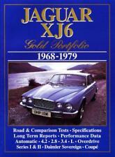 JAGUAR XJ6 ORO Portfolio 1968-1979 (Brooklands Books ROAD Tests SERIE) por R.M.