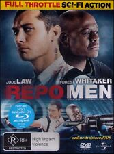 REPO MEN (Jude LAW Forest WHITAKER Liev SCHREIBER) ACTION Crime Sci-Fi Film DVD