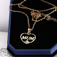 2018 Mother's Love Gift xmas Jewelry New Gold Plated Pendent Necklace MUM:no box