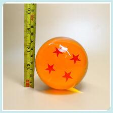 "Dragon Balls 4 Star DragonBall Z DBZ Stars Crystal Diameter Ball 3"" LOOSE"