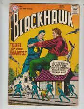 "Blackhawk 110 VG- (3.5) 3/57 ""Duel of the Giants!"""