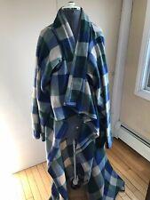 Polyester  Fleece Wearable Blanket With Sleeves TV Blanket Plaid