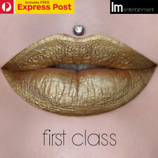 "JEFFREE STAR ""FIRST CLASS"" HOLIDAY COLLECTION METALLIC VELOUR LIQUID LIPSTICK"