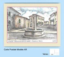 CP AR 43256 CARTE POSTALE DESSIN COULEUR 43 SIAUGUES SAINTE MARIE