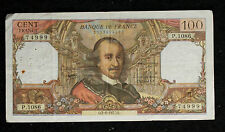 Bank of France 1977 100 Francs Note