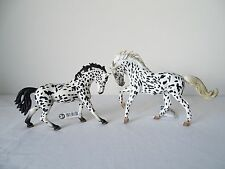 schleich horse 13769 KNABSTRUPPER MARE + collecta 88720 BLACK LEOPARD toy new!!!