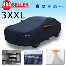 Full Car Cover Waterproof Breathable Auto Protection UV Rain Snow Dust Resistant