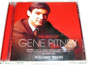 cd-album, Gene Pitney - The Best Of, 16 Tracks, Australia
