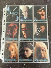 X Men The Movie - 72 Card Base Set - Topps 2000
