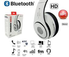 Bluetooth Stereo Wireless Headphones Foldable FM Cordless Headset TF Card New