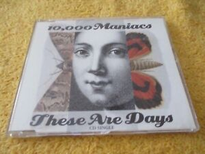 10,000 Maniacs - These Are Days - CD Single
